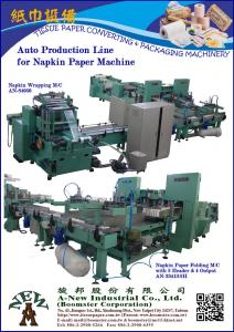 Auto Production Line for Paper Napkin Making M/C(AN-34212+AN-84050)